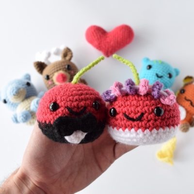 Crochet Married Cherries