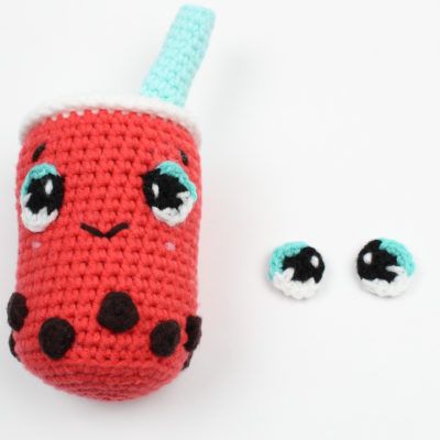 How to Make Crochet Anime Eyes