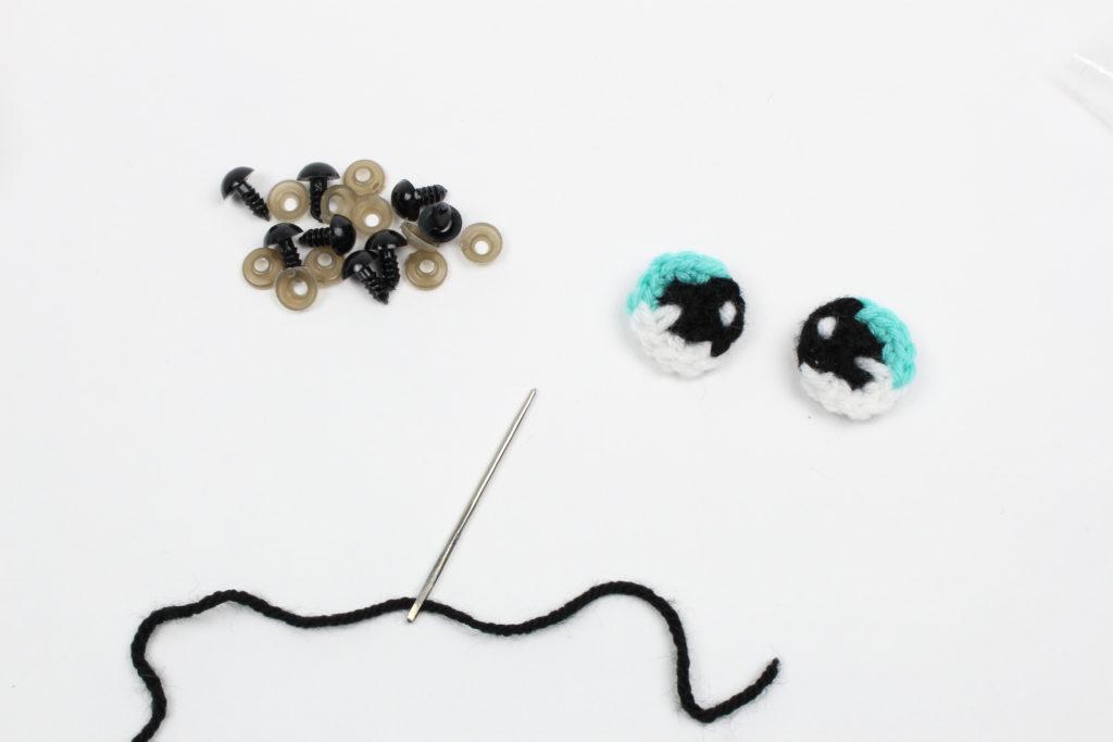 Crochet Eyes Tutorial - An Alternative To Plastic Safety Eyes ... | 683x1024