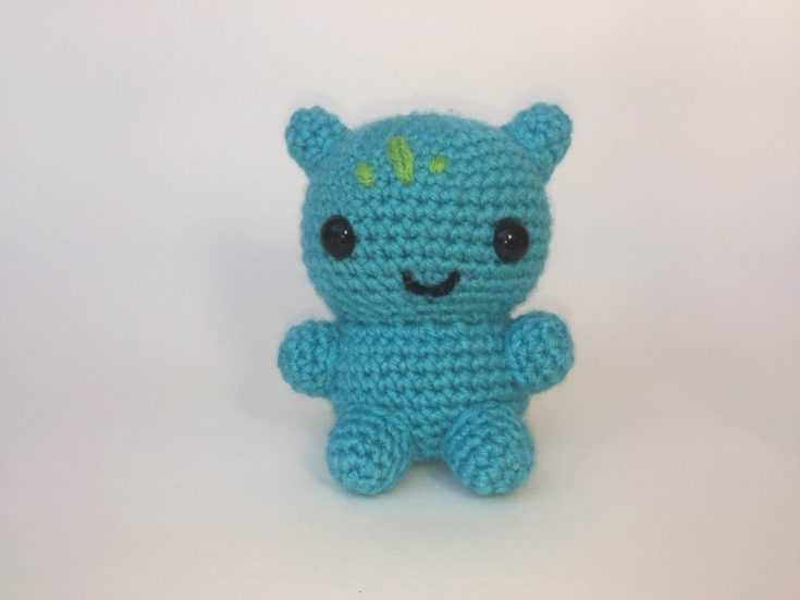 Crochet Bulbasaur - Knot Bad