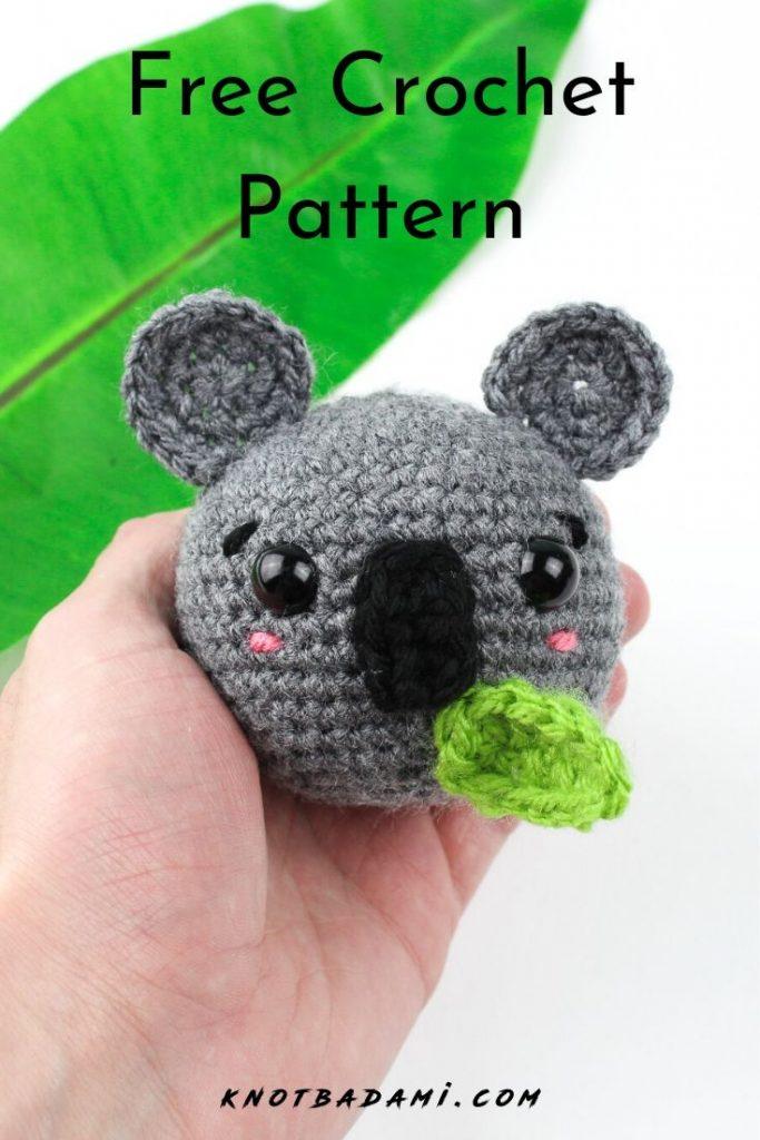 Cuddly Koala - Free Crochet Lovey Pattern | 1024x683