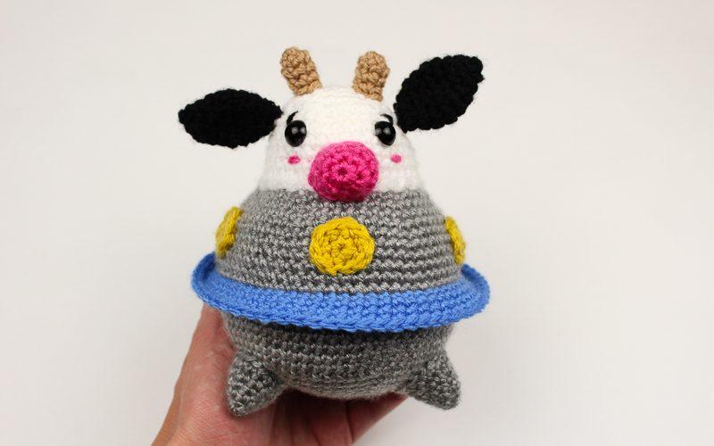 UFO Cow Amigurumi