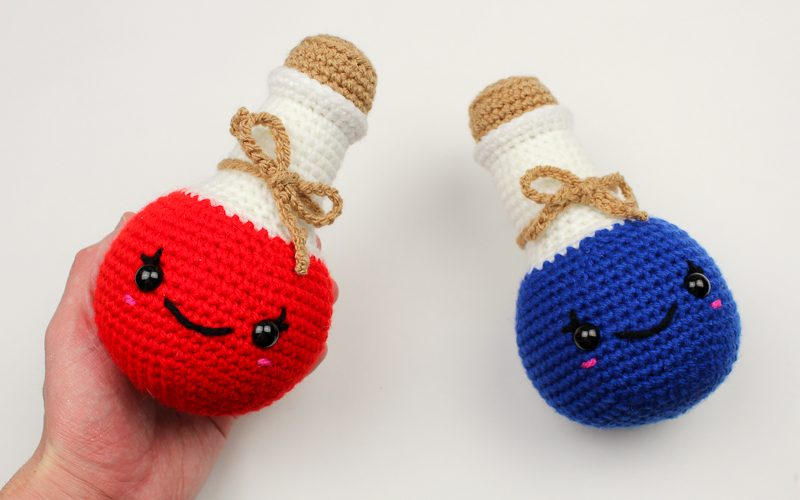Crochet Health and Mana Potions