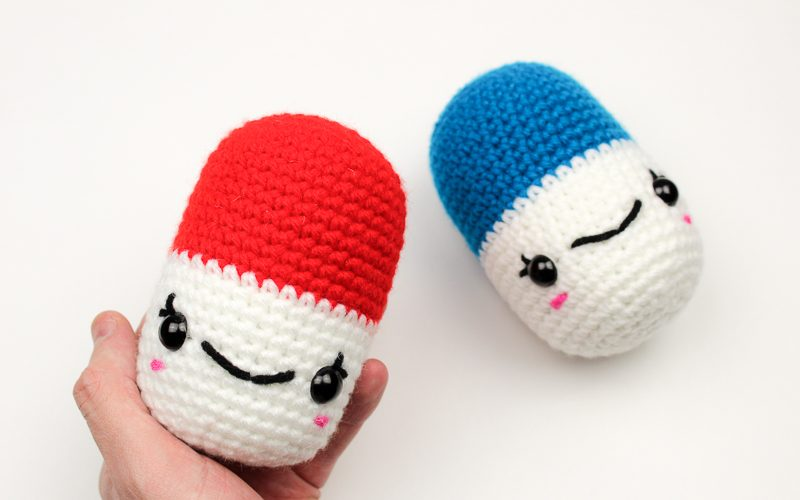Crochet Happy Pills