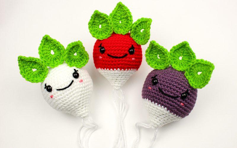 Radical Radish Crochet Pattern