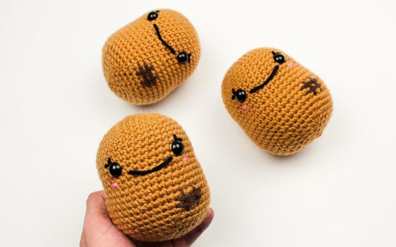 Pudgy Potatoes Crochet Pattern