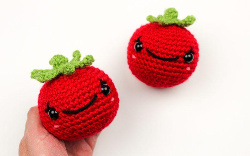 Tender Tomato Crochet Pattern