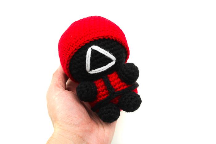 Squid Game Soldier Crochet Pattern